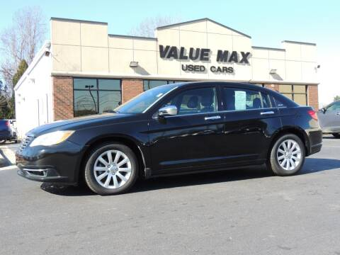 2013 Chrysler 200 for sale at ValueMax Used Cars in Greenville NC