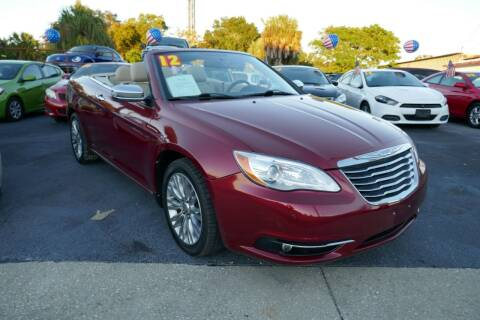 2012 Chrysler 200 Convertible for sale at J Linn Motors in Clearwater FL