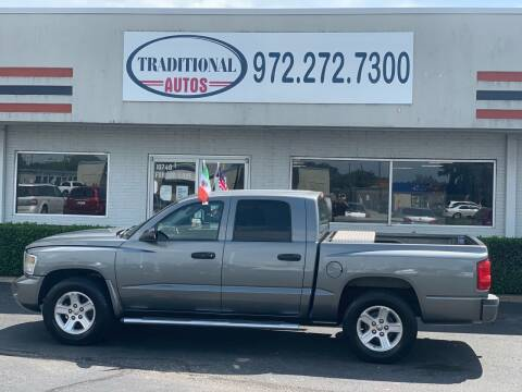 2009 Dodge Dakota for sale at Traditional Autos in Dallas TX