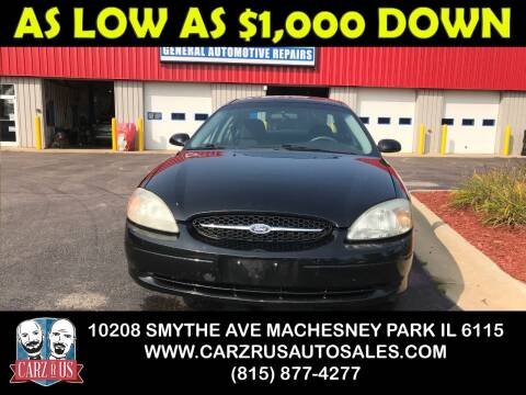 2001 Ford Taurus for sale at Carz R Us in Machesney Park IL