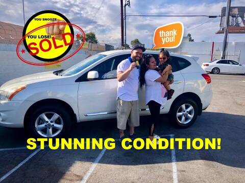 2013 Nissan Rogue for sale at The Car Company in Las Vegas NV