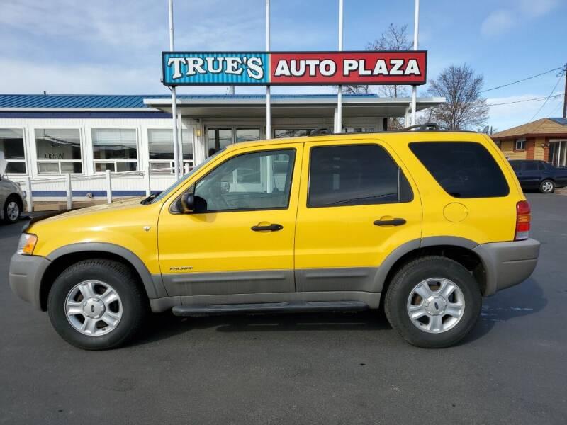 2001 Ford Escape for sale at True's Auto Plaza in Union Gap WA