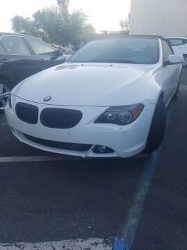 2005 BMW 6 Series for sale at Thomas Auto Sales in Manteca CA