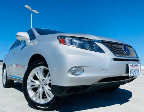 2012 Lexus RX 450h for sale at Bay Cars R Us in San Jose CA