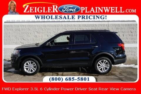 2017 Ford Explorer for sale at Zeigler Ford of Plainwell- Jeff Bishop in Plainwell MI