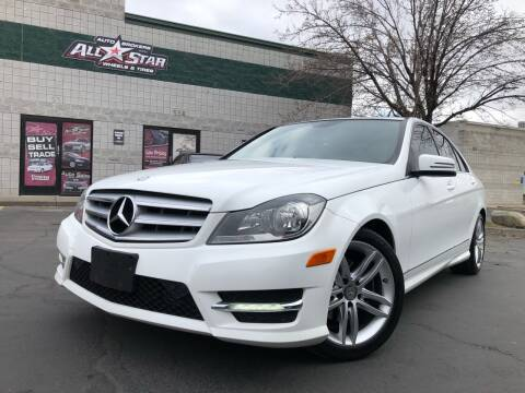 2013 Mercedes-Benz C-Class for sale at All-Star Auto Brokers in Layton UT