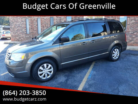 2010 Chrysler Town and Country for sale at Budget Cars Of Greenville in Greenville SC