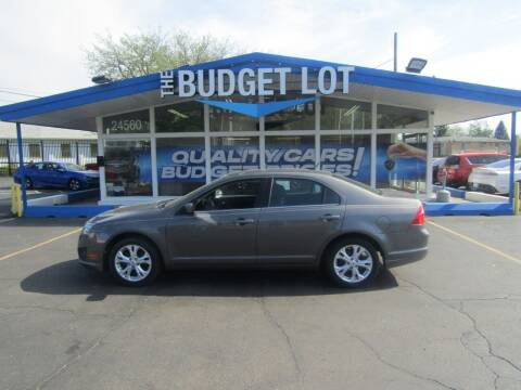 2012 Ford Fusion for sale at THE BUDGET LOT in Detroit MI