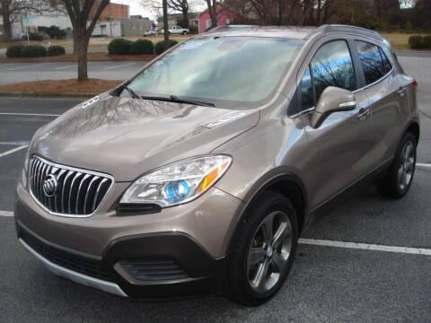 2014 Buick Encore for sale at Uniworld Auto Sales LLC. in Greensboro NC
