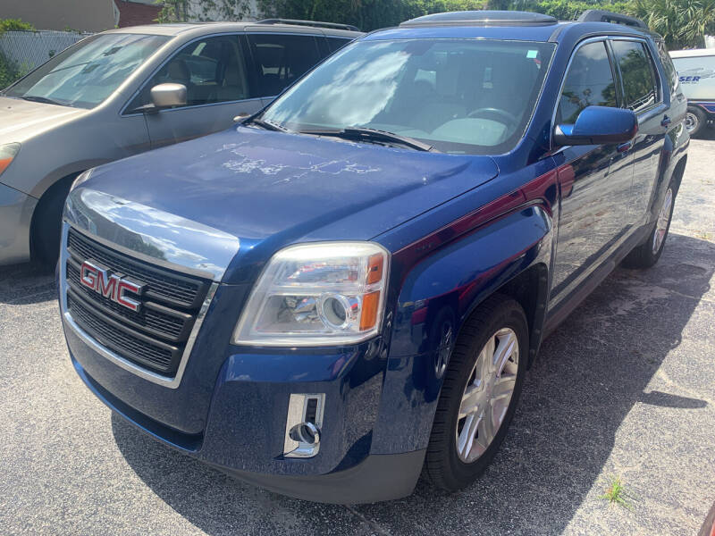 2010 GMC Terrain for sale at Castle Used Cars in Jacksonville FL