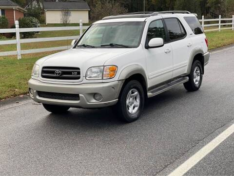 2002 Toyota Sequoia for sale at Two Brothers Auto Sales in Loganville GA
