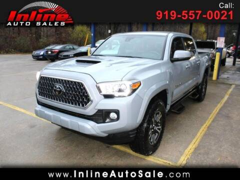 2019 Toyota Tacoma for sale at Inline Auto Sales in Fuquay Varina NC