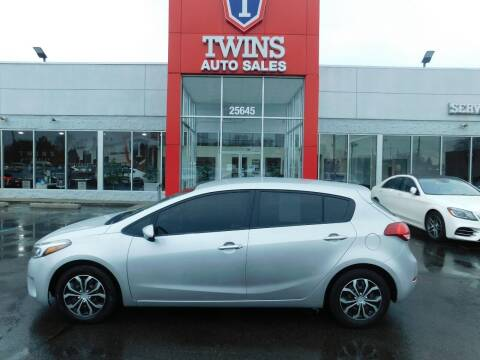 2017 Kia Forte5 for sale at Twins Auto Sales Inc Redford 1 in Redford MI