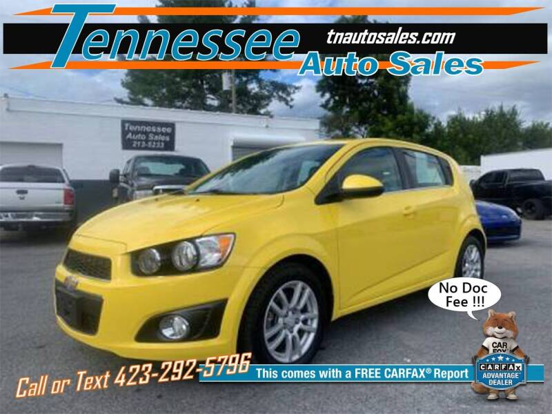 2016 Chevrolet Sonic for sale at Tennessee Auto Sales in Elizabethton TN