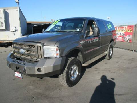 2005 Ford Excursion for sale at Quick Auto Sales in Modesto CA