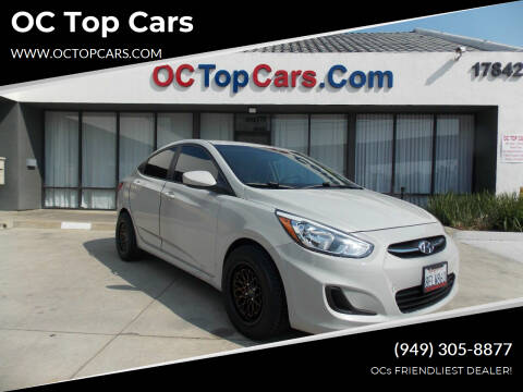 2016 Hyundai Accent for sale at OC Top Cars in Irvine CA