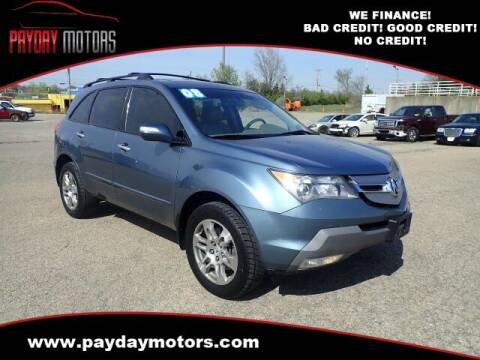 2008 Acura MDX for sale at Payday Motors in Wichita And Topeka KS