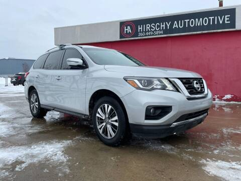 2018 Nissan Pathfinder for sale at Hirschy Automotive in Fort Wayne IN