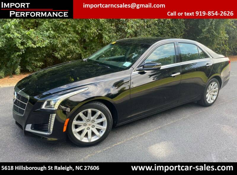 2014 Cadillac CTS for sale at Import Performance Sales in Raleigh NC