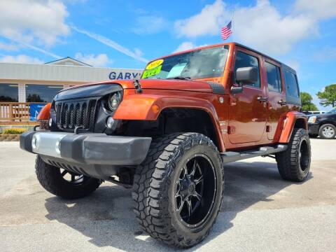 2014 Jeep Wrangler Unlimited for sale at Gary's Auto Sales in Sneads Ferry NC