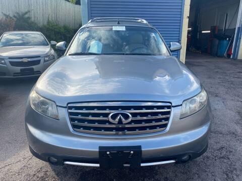 2007 Infiniti FX35 for sale at Polonia Auto Sales and Service in Hyde Park MA