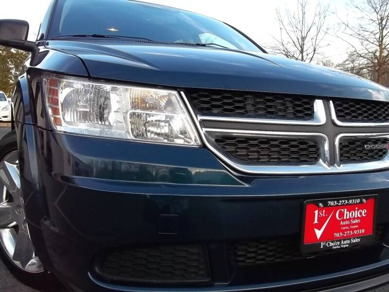 2014 Dodge Journey for sale at 1st Choice Auto Sales in Fairfax VA