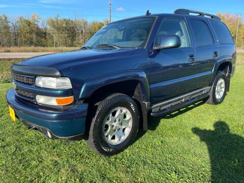2006 Chevrolet Tahoe for sale at Sunshine Auto Sales in Menasha WI
