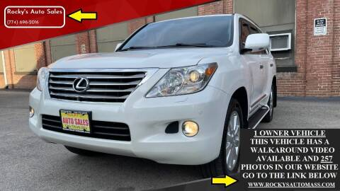 2008 Lexus LX 570 for sale at Rocky's Auto Sales in Worcester MA