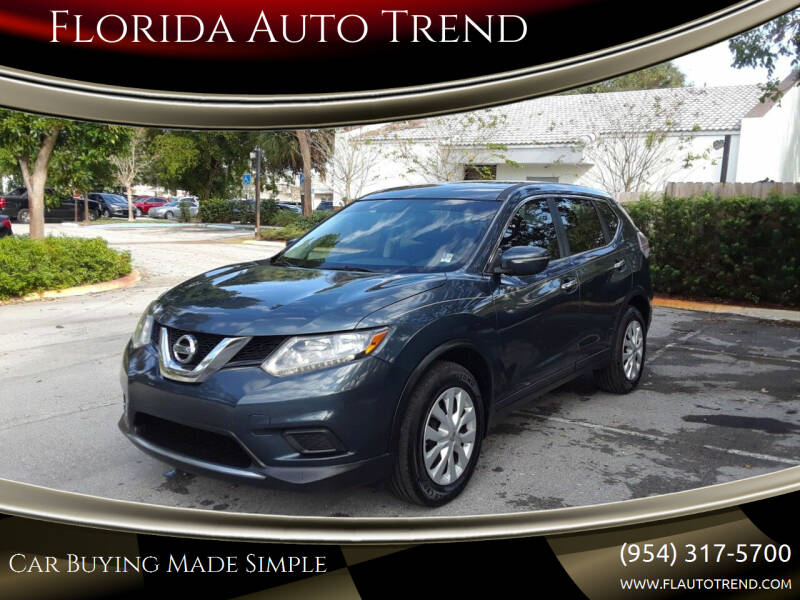 2014 Nissan Rogue for sale at Florida Auto Trend in Plantation FL