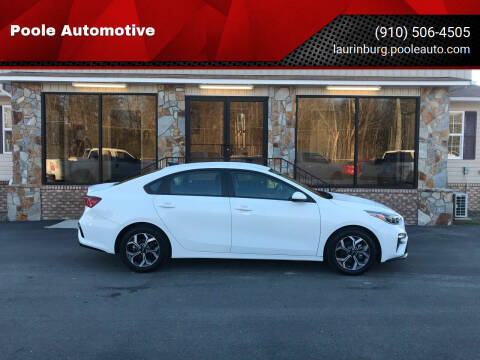 2020 Kia Forte for sale at Poole Automotive in Laurinburg NC