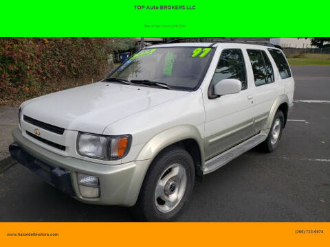 1997 Infiniti QX4 for sale at TOP Auto BROKERS LLC in Vancouver WA