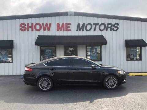 2014 Ford Fusion for sale at SHOW ME MOTORS in Cape Girardeau MO