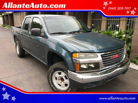2006 GMC Canyon for sale at AllanteAuto.com in Santa Ana CA