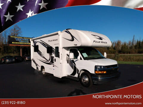 2021 Thor Four Winds MMH Series M-22E GM 3500 for sale at Northpointe Motors in Kalkaska MI