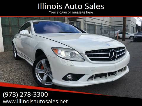 2008 Mercedes-Benz CL-Class for sale at Illinois Auto Sales in Paterson NJ