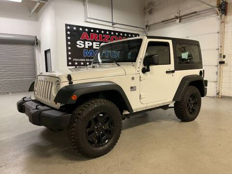 2013 Jeep Wrangler for sale at Arizona Specialty Motors in Tempe AZ