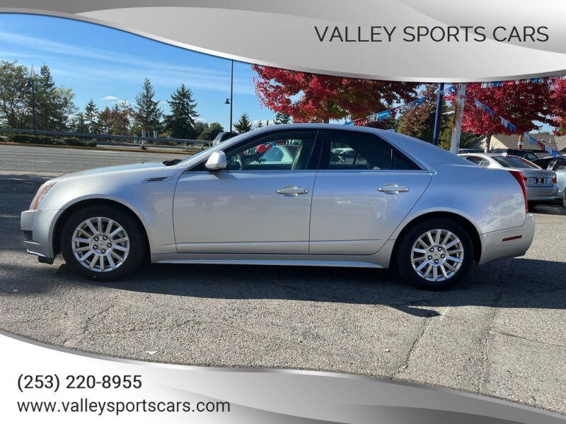 2010 Cadillac CTS for sale at Valley Sports Cars in Des Moines WA