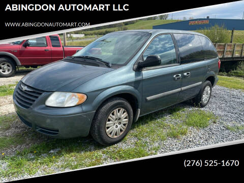 2006 Chrysler Town and Country for sale at ABINGDON AUTOMART LLC in Abingdon VA