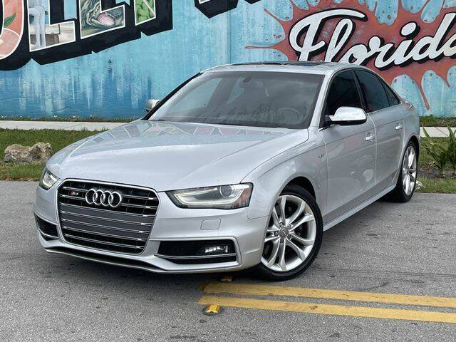 2013 Audi S4 for sale at Palermo Motors in Hollywood FL