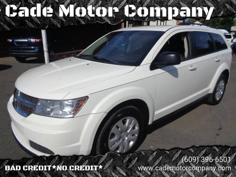 2014 Dodge Journey for sale at Cade Motor Company in Lawrence Township NJ