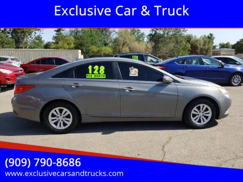 2013 Hyundai Sonata for sale at Exclusive Car & Truck in Yucaipa CA