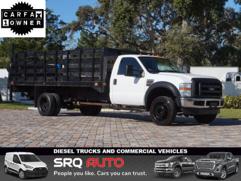 2010 Ford F-550 Super Duty for sale at SRQ Auto LLC in Bradenton FL