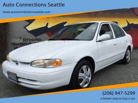 1999 Chevrolet Prizm for sale at Auto Connections Seattle in Seattle WA