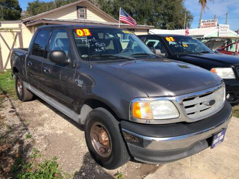 2003 Ford F-150 for sale at Castagna Auto Sales LLC in Saint Augustine FL