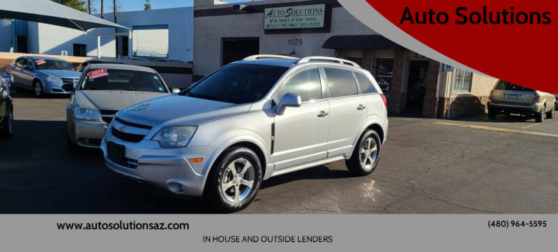 2012 Chevrolet Captiva Sport for sale at Auto Solutions in Mesa AZ