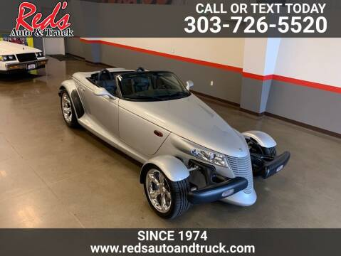 2001 Plymouth Prowler for sale at Red's Auto and Truck in Longmont CO