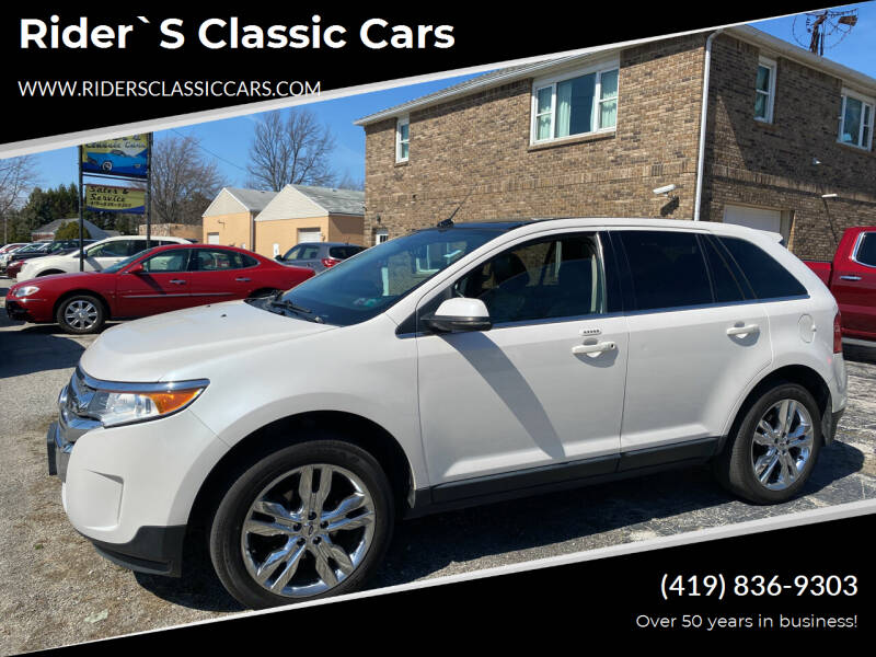 2013 Ford Edge for sale at Rider`s Classic Cars in Millbury OH
