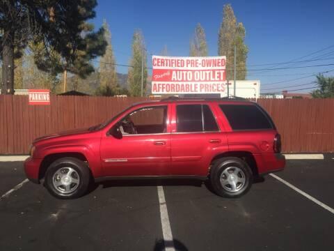2004 Chevrolet TrailBlazer for sale at Flagstaff Auto Outlet in Flagstaff AZ