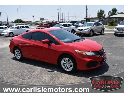 2015 Honda Civic for sale at Carlisle Motors in Lubbock TX
