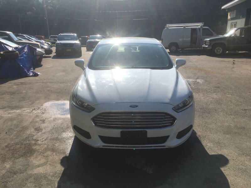 2015 Ford Fusion for sale at Mikes Auto Center INC. in Poughkeepsie NY